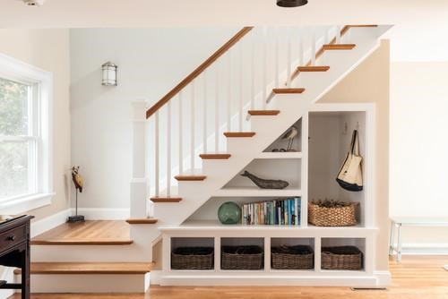 7 Ideas For Decorating Under The Stairs
