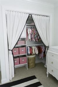Merveilleux CWI Closet Curtains
