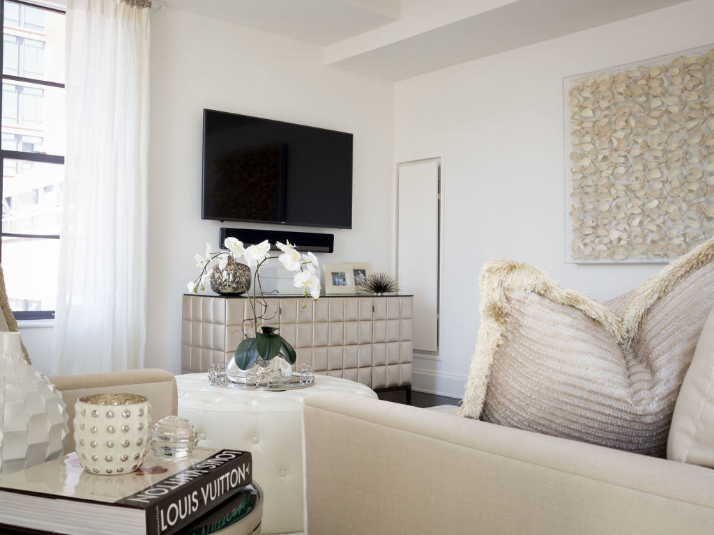 Creative Wall Coverings : Luxury nyc apartment interior design idea gallery cwi