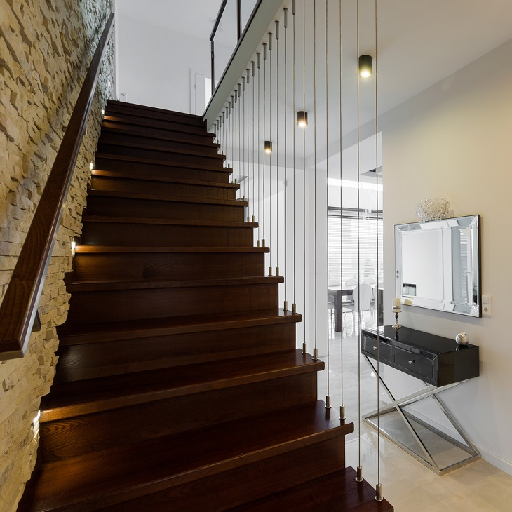 Timber Handrails for Stairs