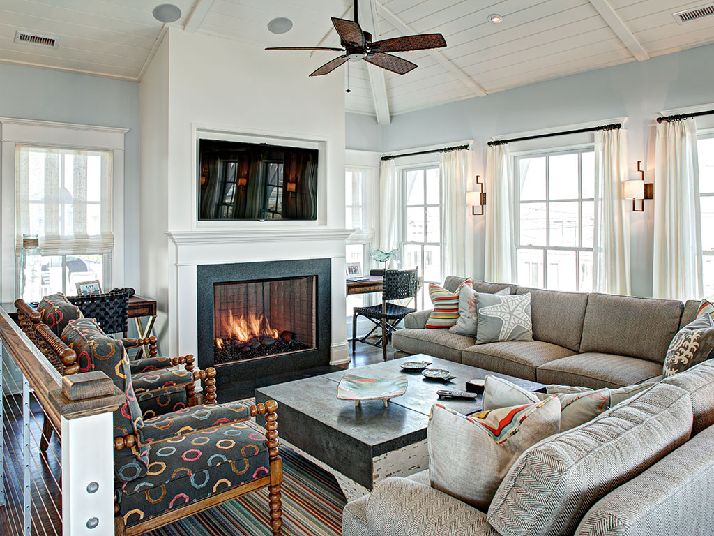 Jersey Shore Seaside House Retreat Interior Design