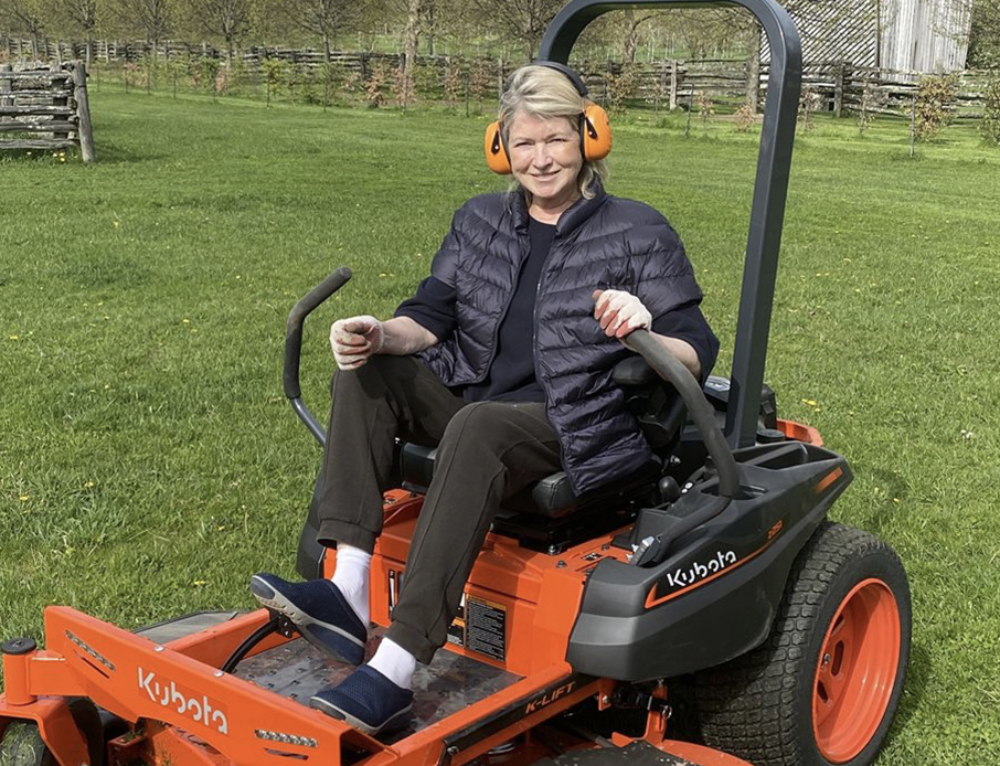 Lawn Care Tips from Martha Stewart Herself